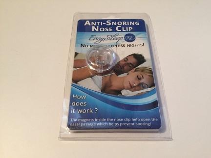 EasySleep Anti-Snoring Nose Clip Review