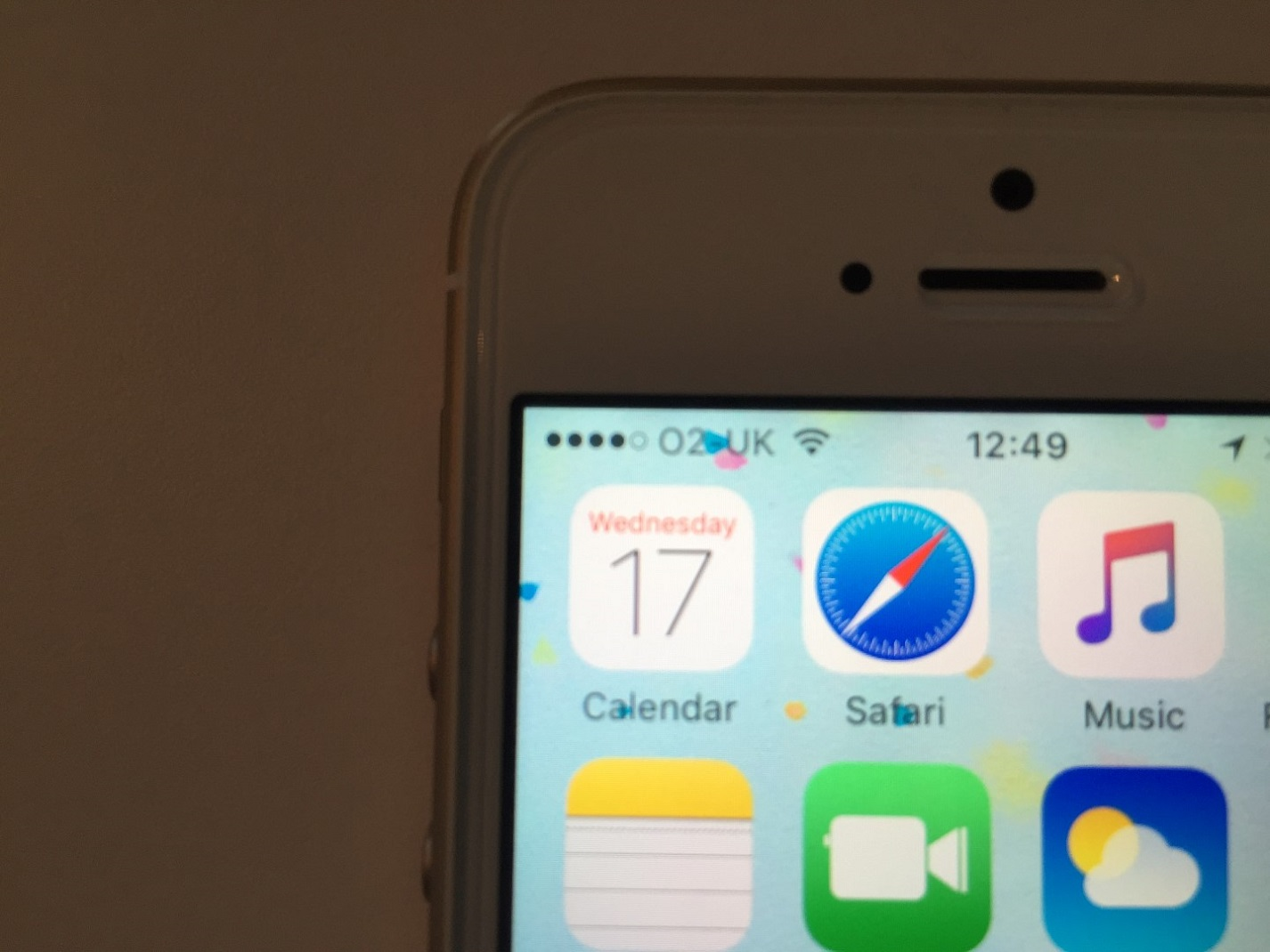 iPhone on O2 Network