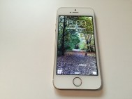 Front of iPhone