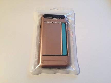 Coolden Rose Gold iPhone 6/6s Wallet Case Review
