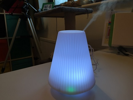 Humidifier In Use