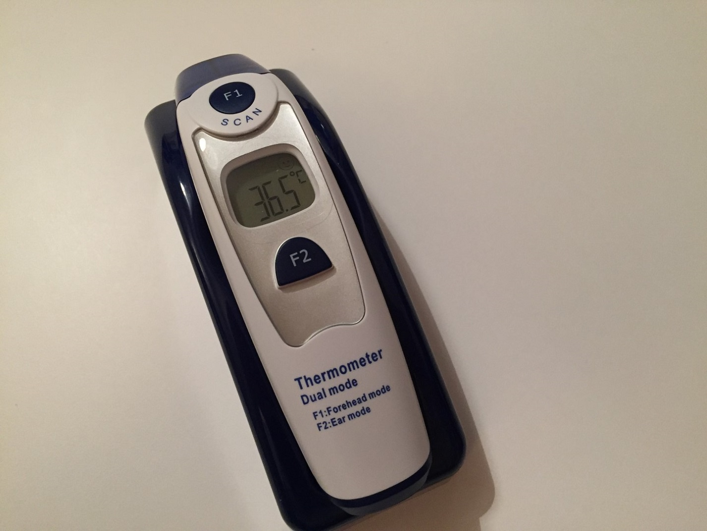 Thermometer in Use