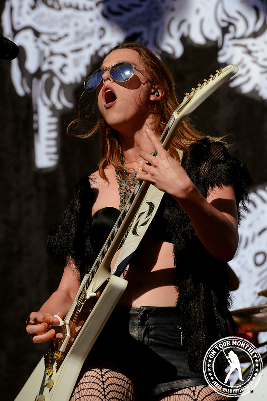 Halestorm (Aftershock Festival - Sacramento, CA) 2013 ©2013 James Villa Photography, All Rights Reserved