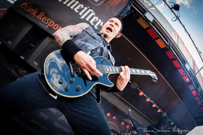Matt Heafy - Trivium- Fort Rock 2014