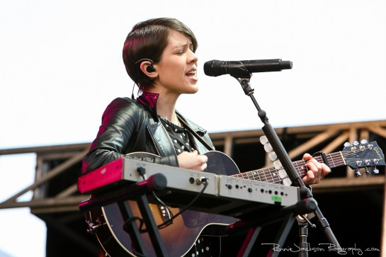 Tegan and Sarah - (Suburbia Music Festival - Plano TX 5-4-2014)