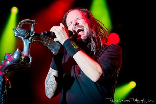 Jonathan Davis - Korn - Fort Rock 2014