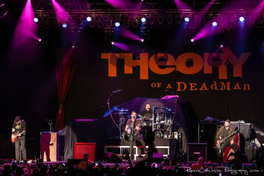 Theory Of A Deadman - Rocklahoma 2014 - Main Stage