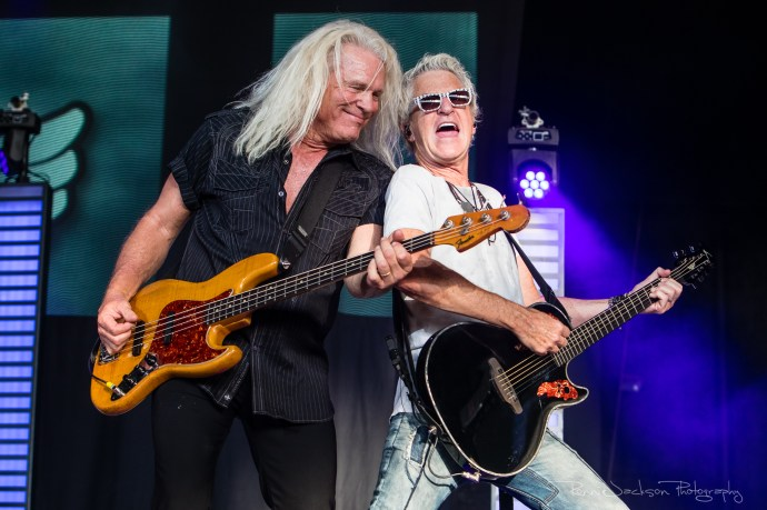 REO Speedwagon - Bruce Hall and Kevin Cronin - Dos Equis Pavilion - Dallas Tx - 6-29-2018