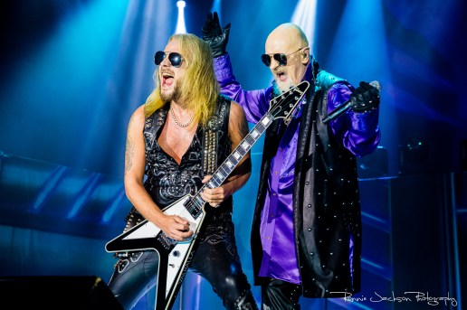 Richie Faulkner / Rob Halford / Judas Priest / The Bomb Factory / Dallas TX / 5-31-2019