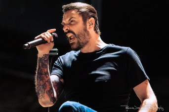 Benjamin Burnley - Breaking Benjamin - Dos Equis Pavilion - Dallas TX - 9-10-2019