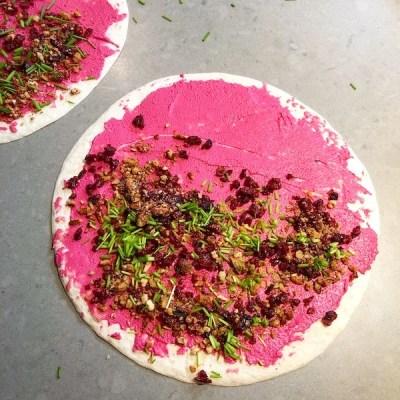 Wraps met biet, geitenkaas en cranberries3_ontroerendlekker.nl