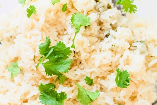 Close up rice