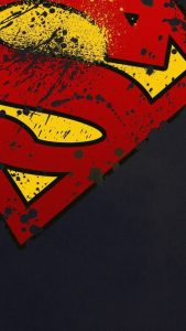 Superman-Logo-Minimal-Android-Wallpaper