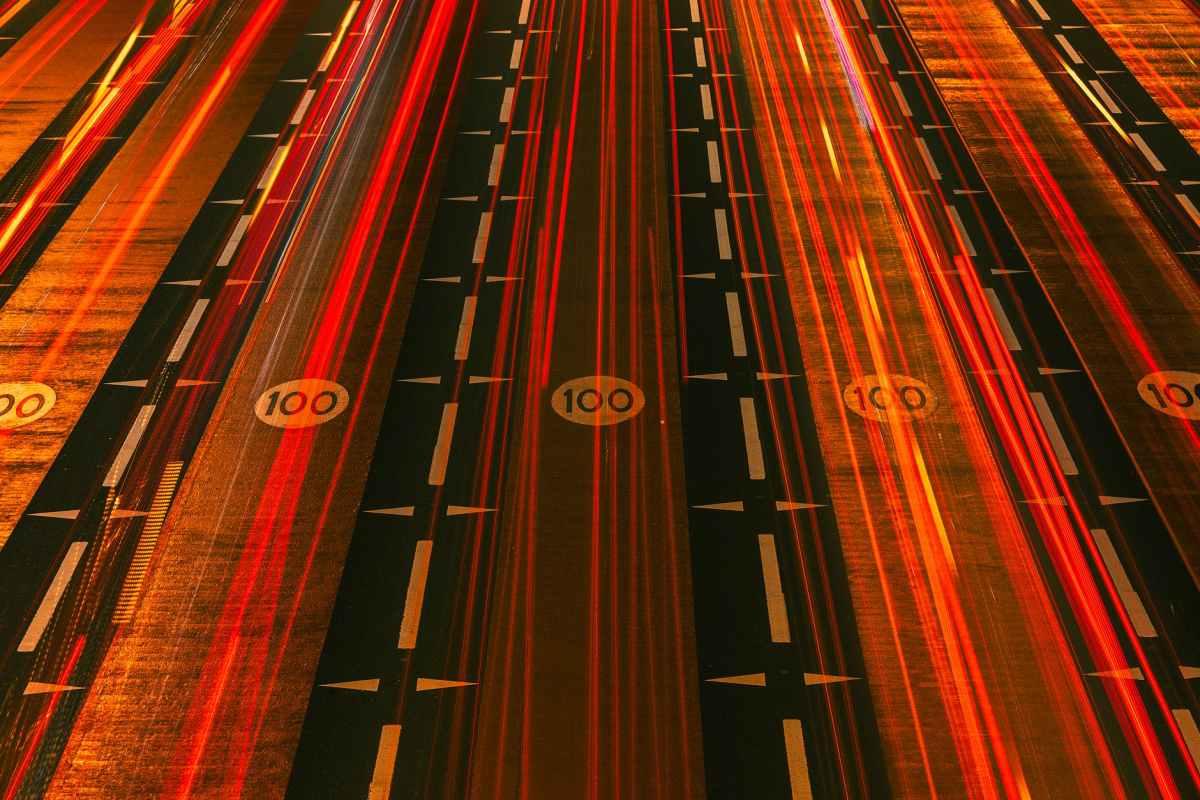 red light streaks