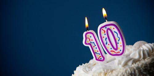 10 Years of Publishing
