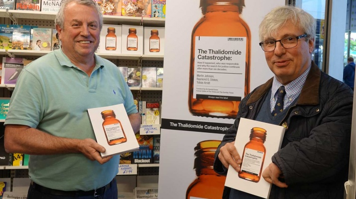 The Harrogate Informer reports on Guy Tweedy's campaign for justice for thalidomide survivors