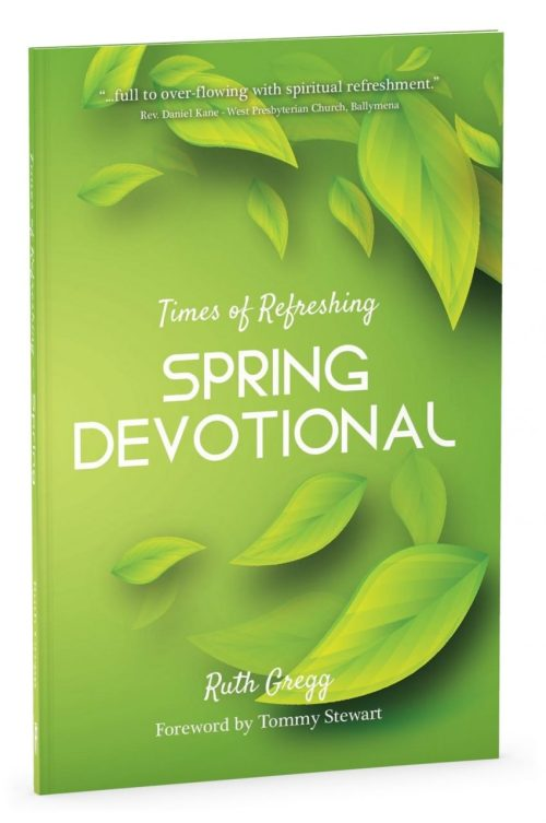 Spring Devotional book cover