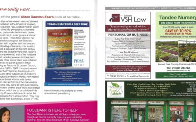 Local Author Features in Jigsaw Magazine