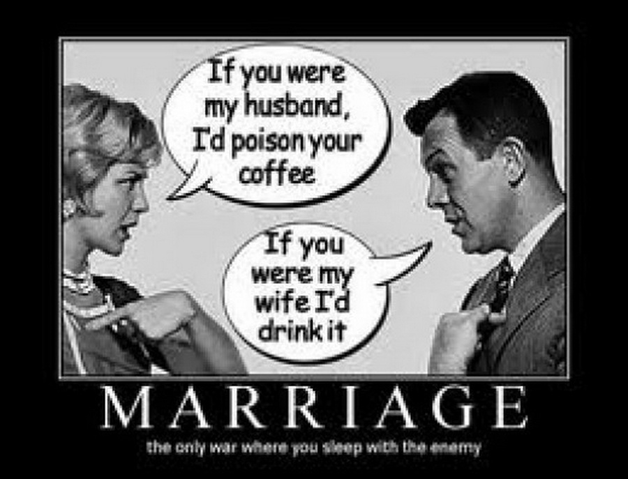 funny marriage quotes on