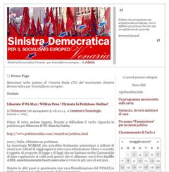 Sinistra Democratica per il socialismo europeo sezione Venaria Reale (TO)