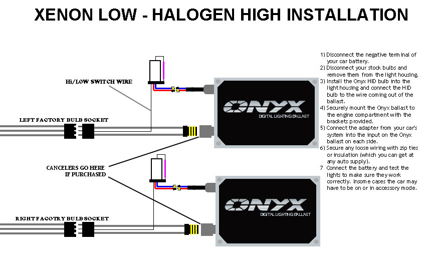 Xenon Hid Wiring Diagram : 24 Wiring Diagram Images