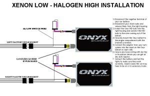 Hilo HID Conversion Kit Installation Guide  Xenon Lo