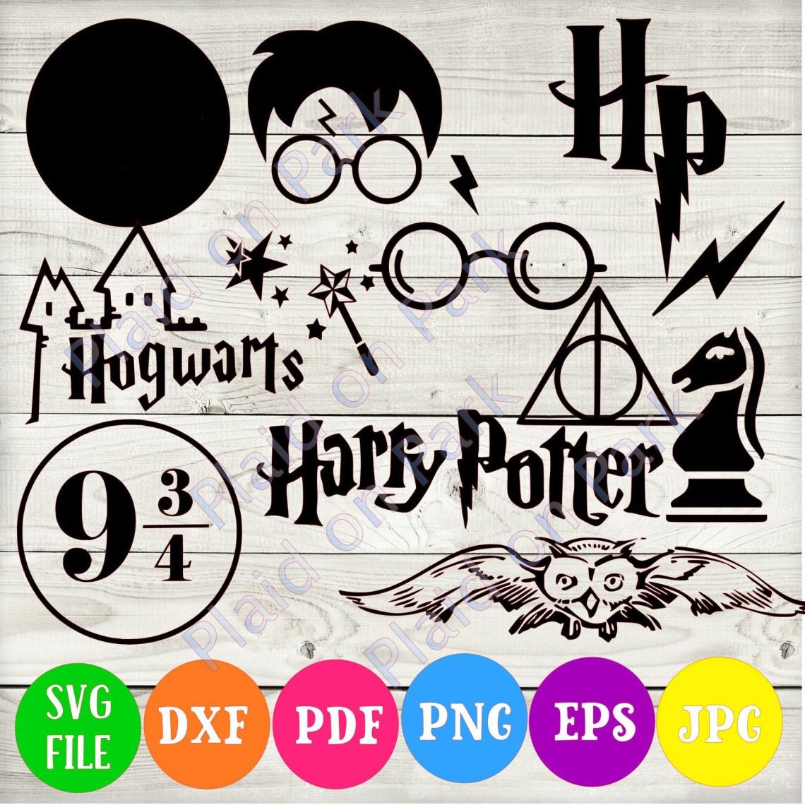 Download Harry Potter SVG, Hogwarts Png, Dxf, eps, pdf • Onyx Prints