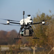 Lidar 3D scanning drone