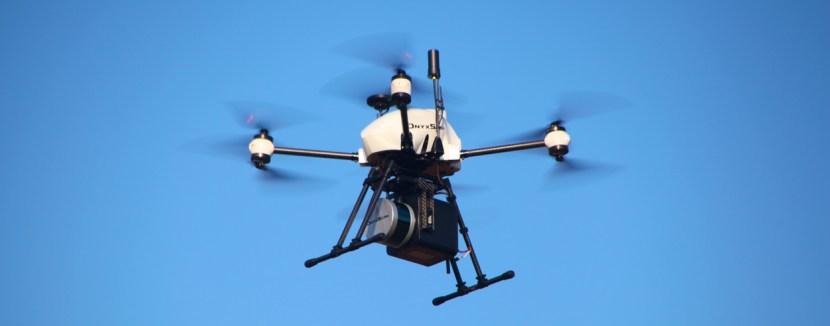 Xena OnyxScan Drone LiDAR - LiDAR drone OnyxScan, UAV 3D laser scanner
