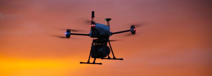 OnyxScan Lidar UAV topography - Drone Xena avec LiDAR intégré