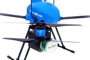 Drone XENA avec LiDAR OnyxScan embarqué