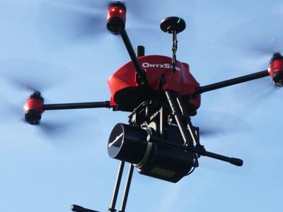 LiDAR sur drone