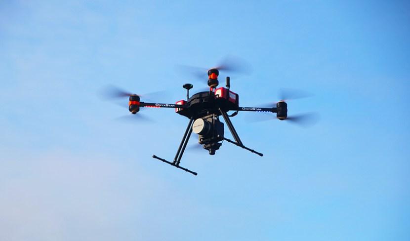 UAV LiDAR survey
