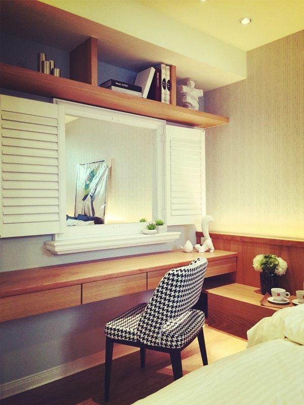 """您有""""鏡子對床""""的風水顧慮嗎?.... - 安妮格思 實木百葉"""