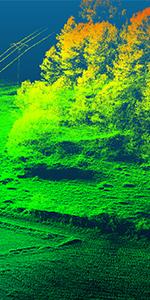 lidar aerial laser scanning drone uav onyxstar - XENA