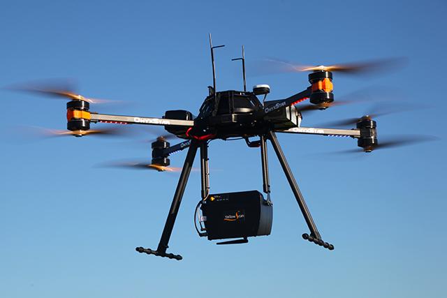 onyxstar fox C8 hd lidar aerial laser scanning drone uav uas - Drone payload
