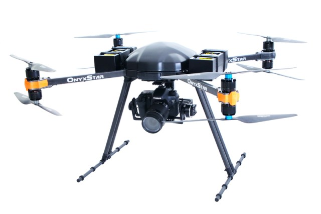 OnyxStar FOX-C8 HD, Multivalent and efficient drone