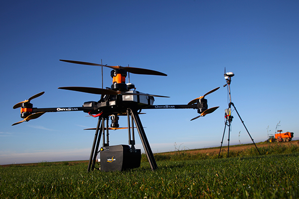 Drone Lidar - 3D scanner on UAV