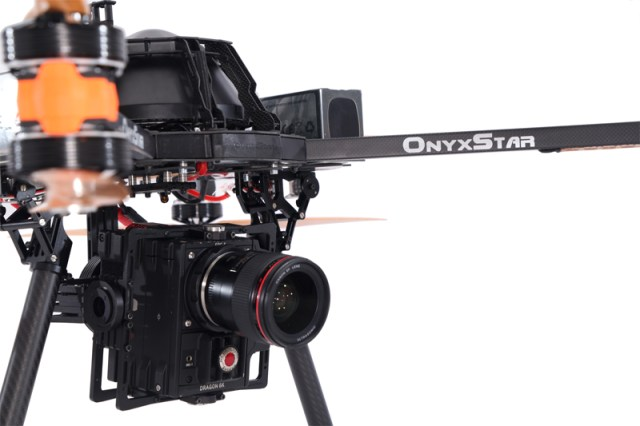 Red Dragon 6K cinema UAV - OnyxStar FOX-C8 XT drone