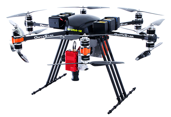 onyxstar hydra 12 heavy lifter payload drone uav uas professional pro 5 - Showroom