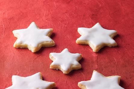 Geglazuurde koekjes (kerst)