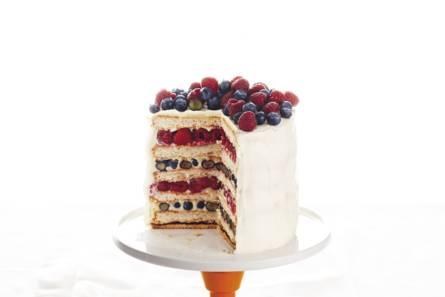 Rood-wit-blauw-taart
