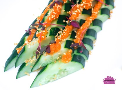 Cucumber with Sesame Dressing