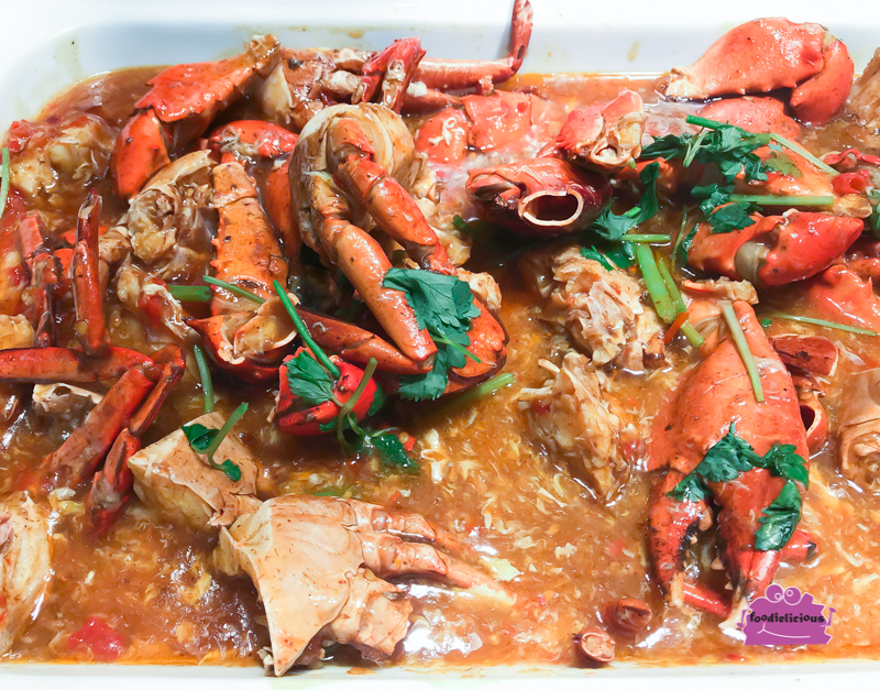 Review Buffet At Ginger Parkroyal On Beach Road: A Tale Of Three Lobsters & A Crab Buffet Promo At Ginger