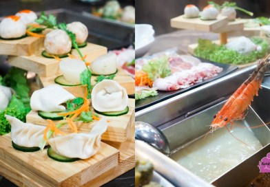 Hai Xian Lao 海鲜捞 Hot Pot with 7 Soup Bases & Homemade Dumplings, Meatballs and Prawn Paste at Wilkie Edge