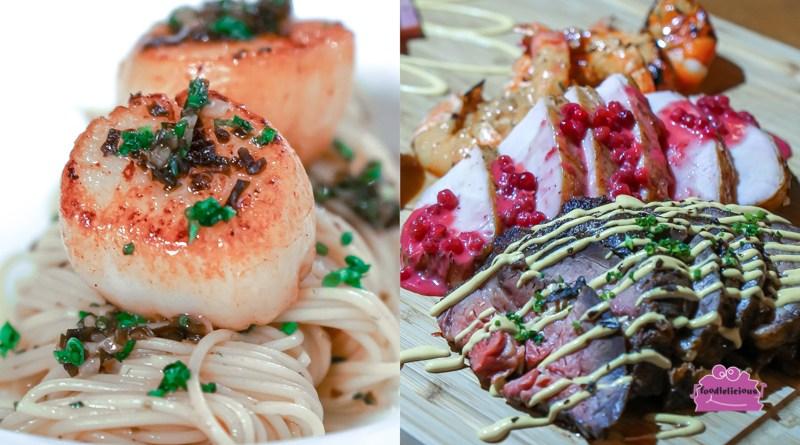 House of MU's New Christmas Menu Set with Truffle Pasta, Josper-grilled Meats & Dessert platter!