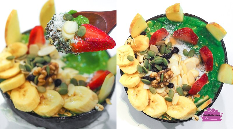 SuperFood & Smoothie Cafe for Healthy Vegan Desserts at Paradigm Mall JB, Malaysia