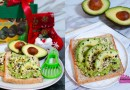 Avocado Breakfast Toast Recipe with soft & creamy Avanza Avocados