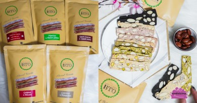 Baked To Order Singapore – Healthy Homemade Almond Biscotti with interesting flavours