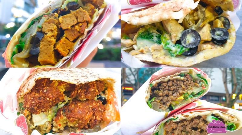 Pita Tree's serving Grilled Kebab Wraps & Pitas at Forum Shopping Mall